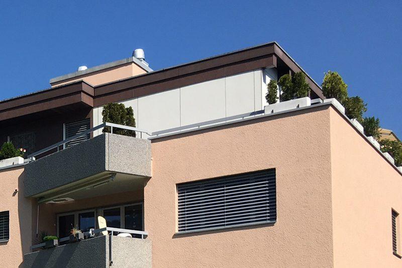 Neue Fassade für Eigentumswohungen