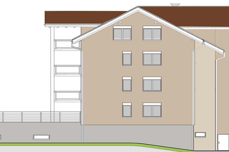 Mehrfamilienhaus Renovation