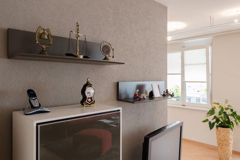 Farbe für Wohn- und Essbereich