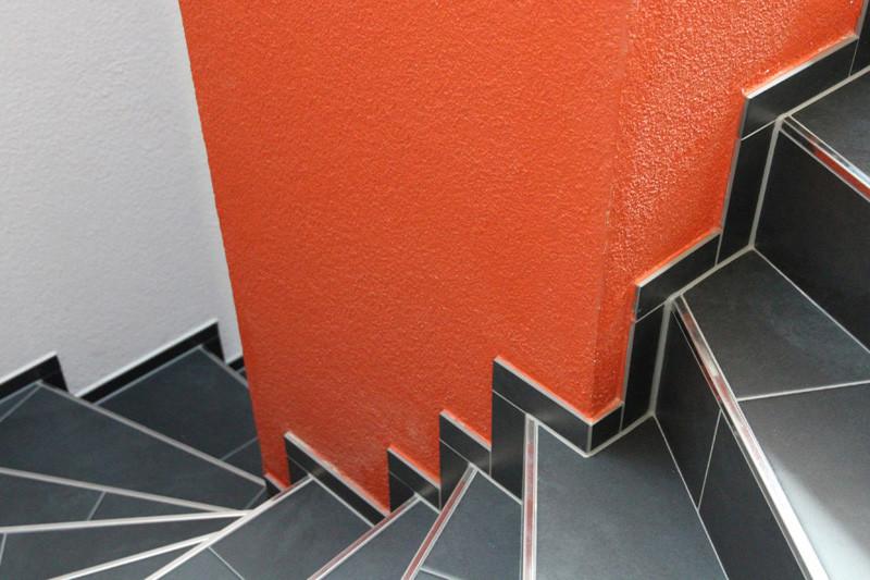 Gesamtfarbkonzept für ein umgebautes Haus