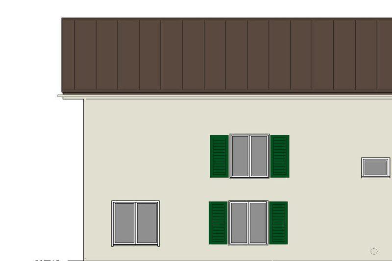 Fassade und Sockel